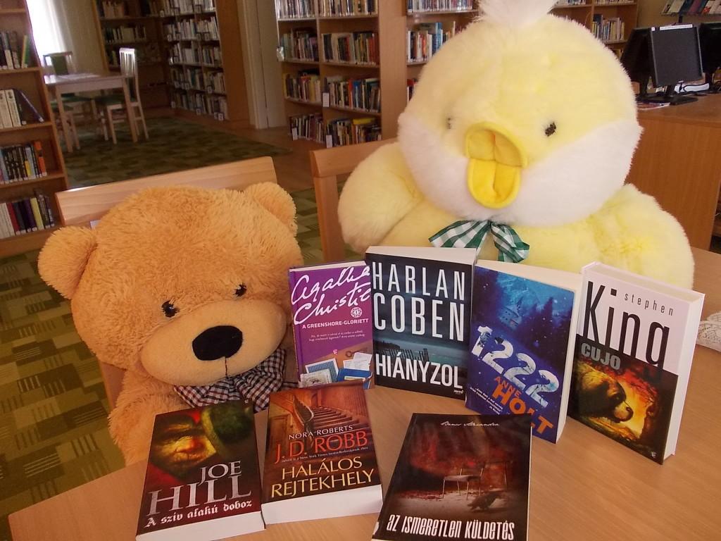 A városi könyvtár májusi újdonságai