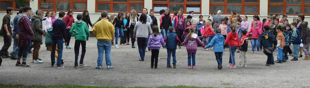 Szent Mihály napi mulatság az iskolában