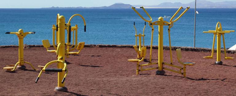 Sportpark, pihenőpark és játszótér!