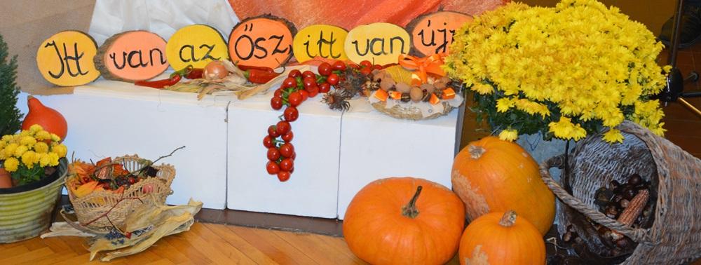 Őszi szín kavalkád a közösségi házban
