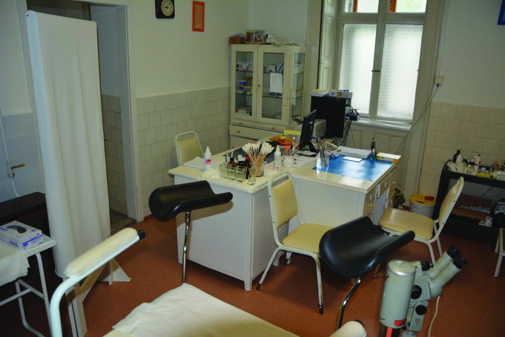 Részleges felújításokat végeztek az orvosi rendelőkben