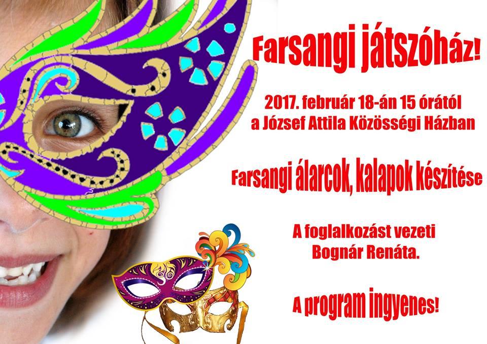 Farsangi játszóház!