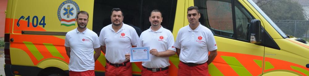 Országos élvonalban a szabadszállási mentők