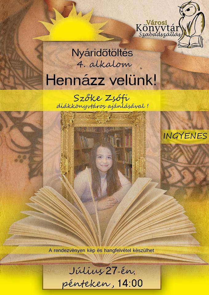 Nyáridőtöltés a könyvtárban