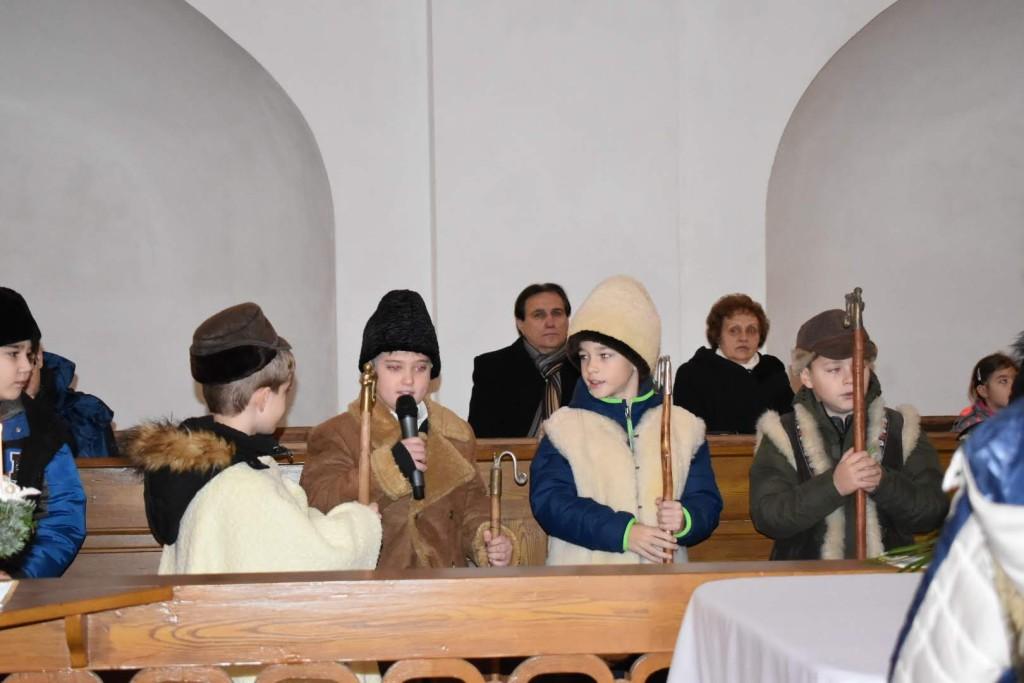 Angyalváró istentisztelet a református gyülekezetben