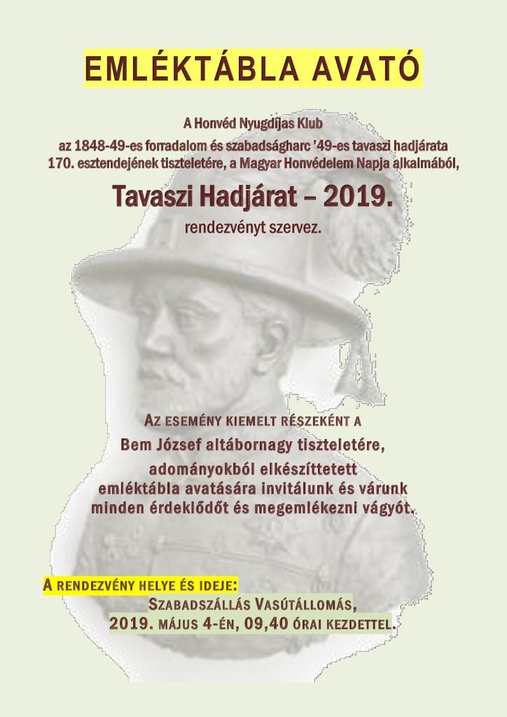 Tavaszi hadjárat – 2019.