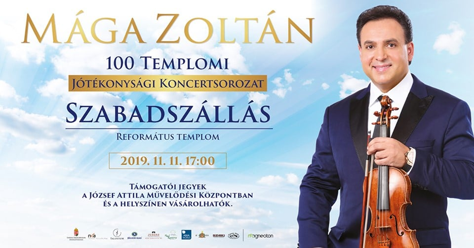 Mága Zoltán Szabadszálláson