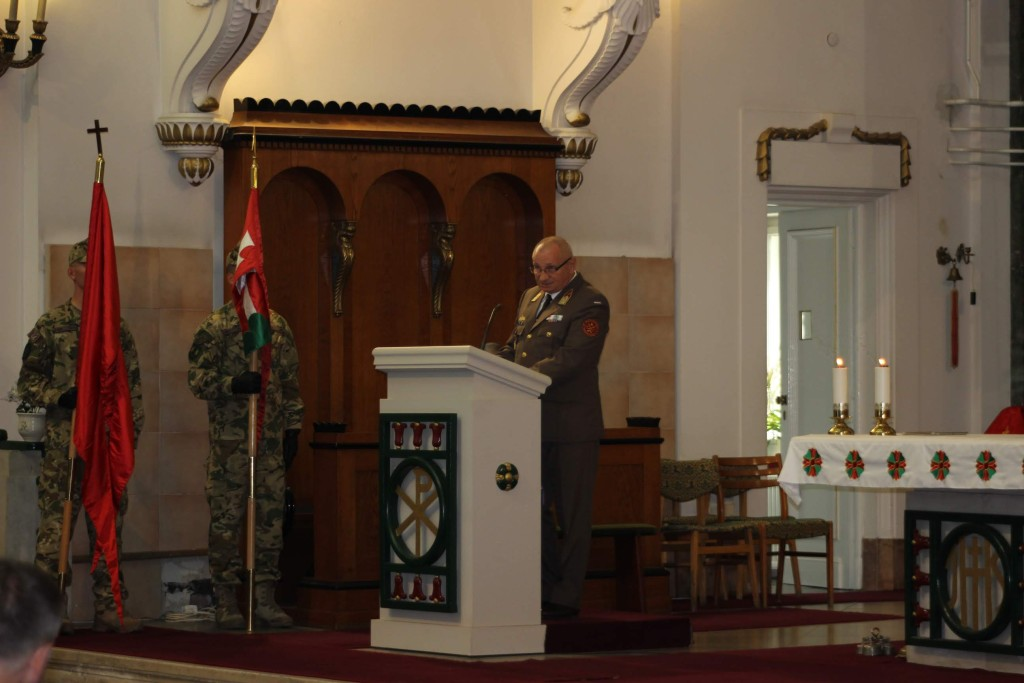 Ünnepi szentmise a logisztikus katonák védőszentje tiszteletére