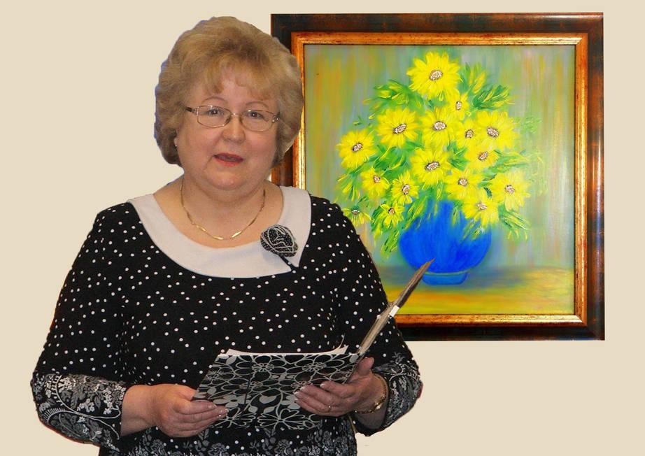 A festészetben találta meg magát a szabadszállási nyugdíjas védőnő